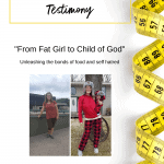 yellow tape measure with before and after picture of weight loss