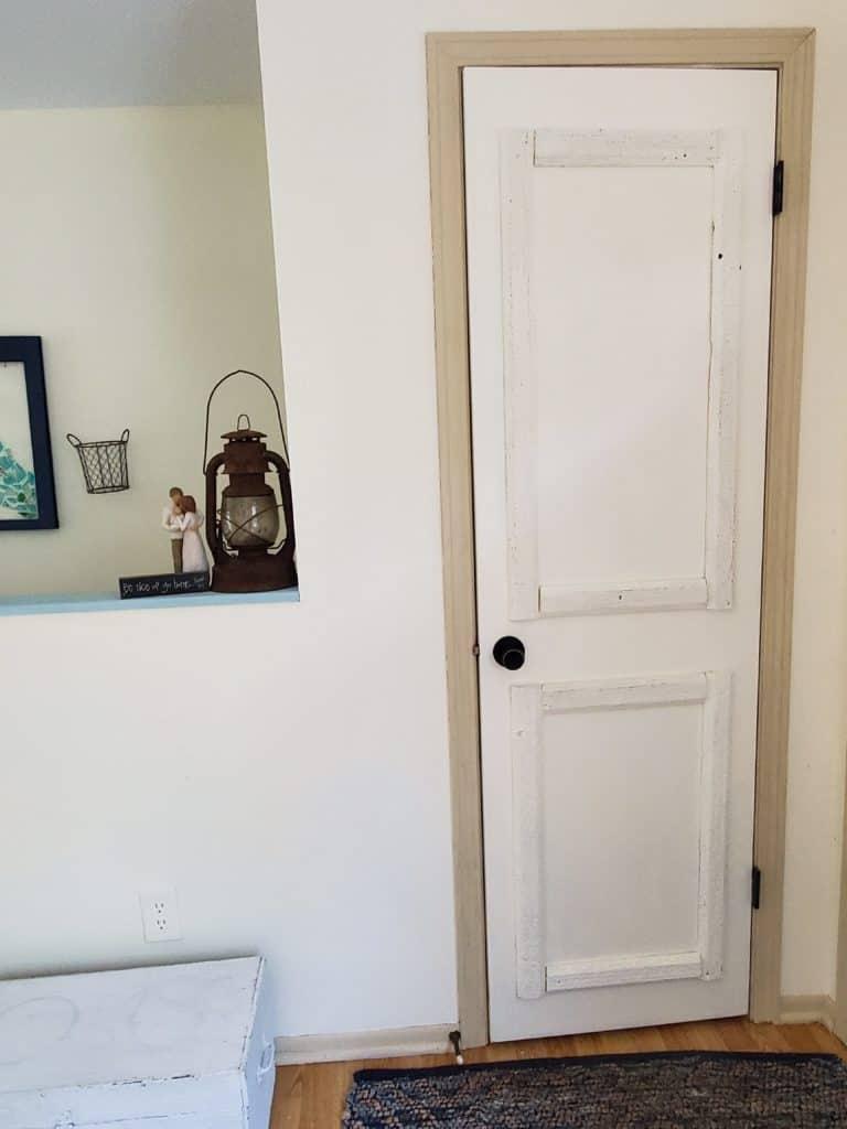 completely hollow core door makeover