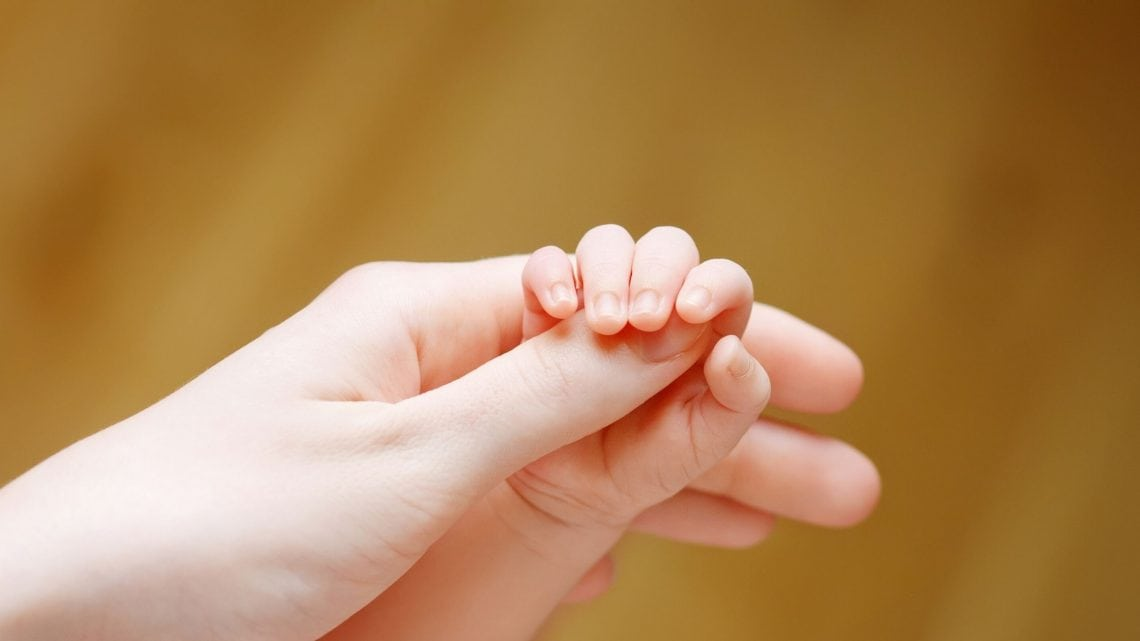 holding hand of child - Walk in truth