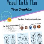 visual birth plan pinterest template