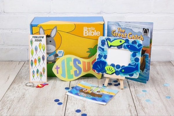 Image of the Hello Bible subscription box