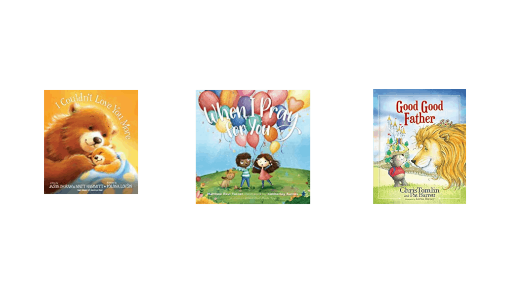 Three pictures of comforting message books