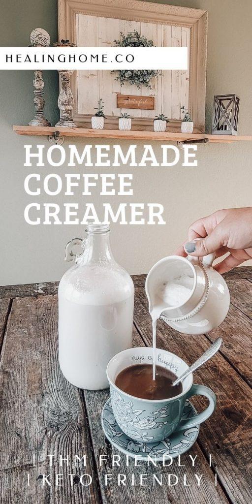 homemade coffee creamer