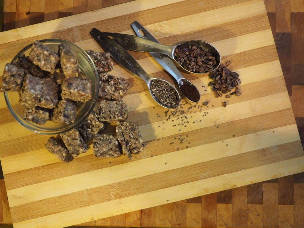ingredients for superfood balls