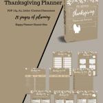 Thanksgiving Planneer