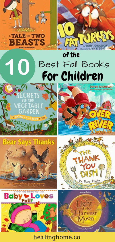 fall books for children with all images for the top 10 books