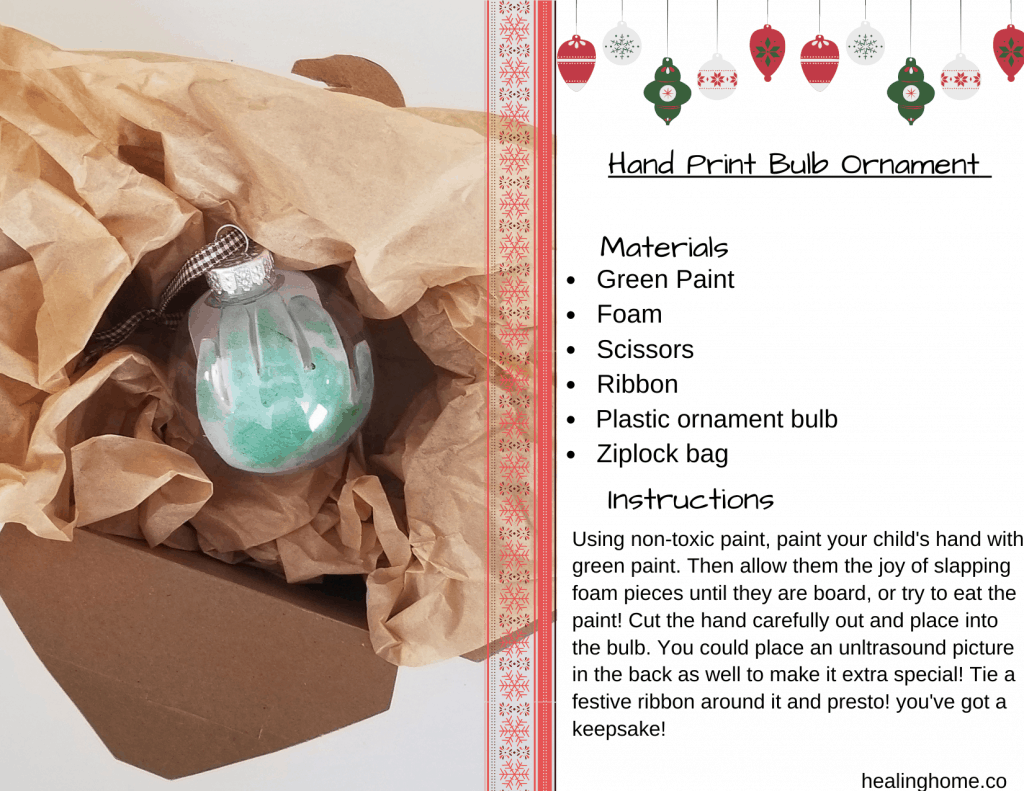 Christmas ornament instructions