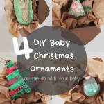 DIY Baby Christmas Ornaments for Pinterest