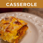 Low Carb Hash Brown Casserole for pinterest
