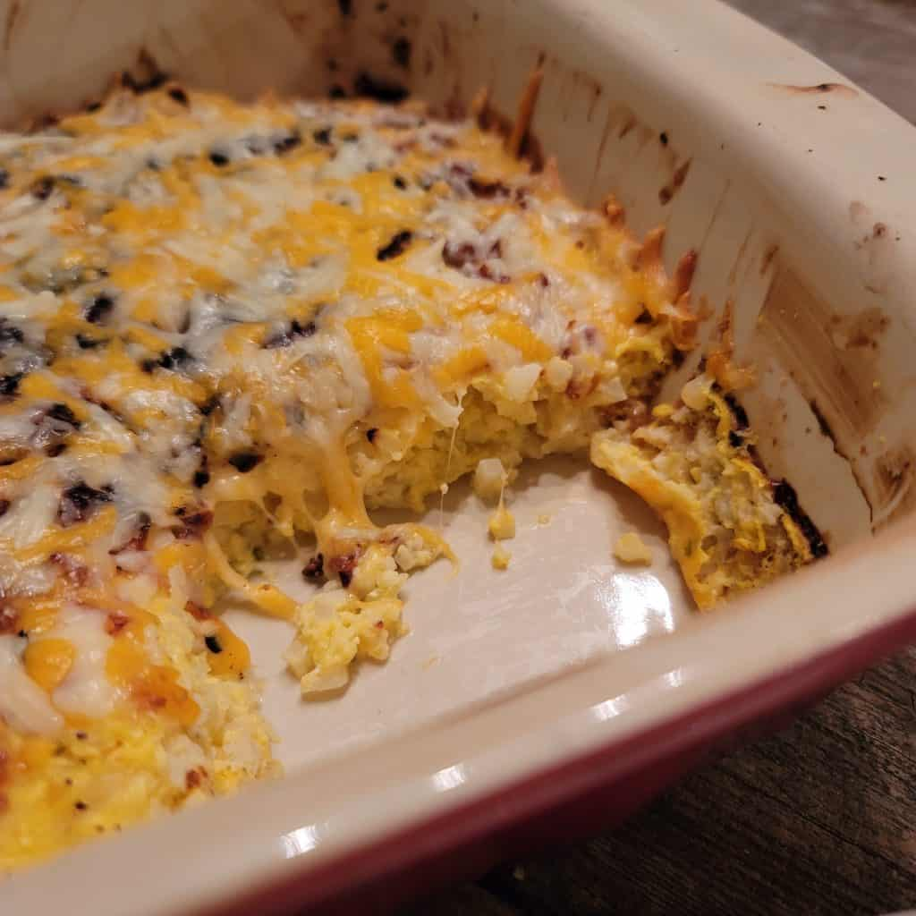 low carb hash brown casserole