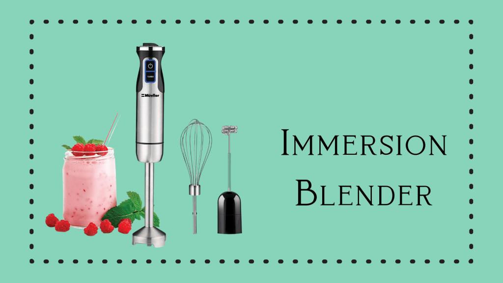 Immersion blender ad