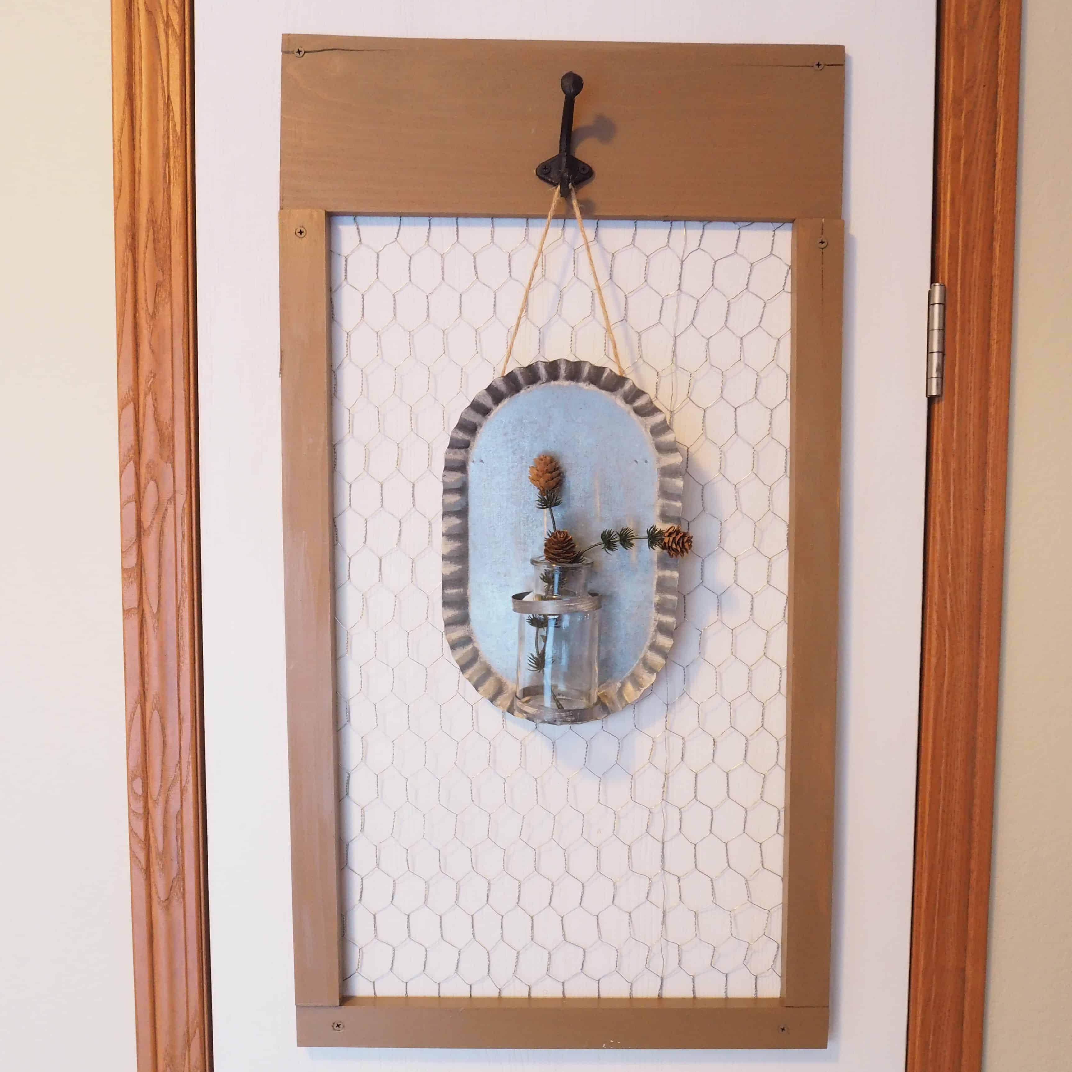 full view of pantry door