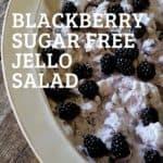 blackberry salad for pinterest