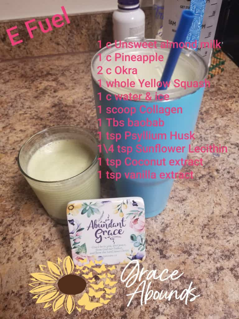 Another recipe from Dawn at abundant coaching