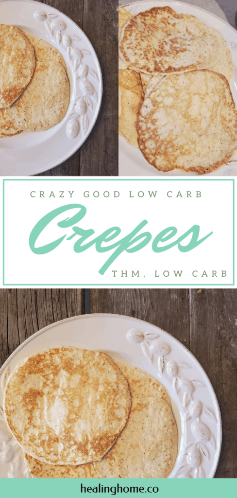 Low Carb Crepes/THM crepes