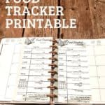 food freedom tracker on a table