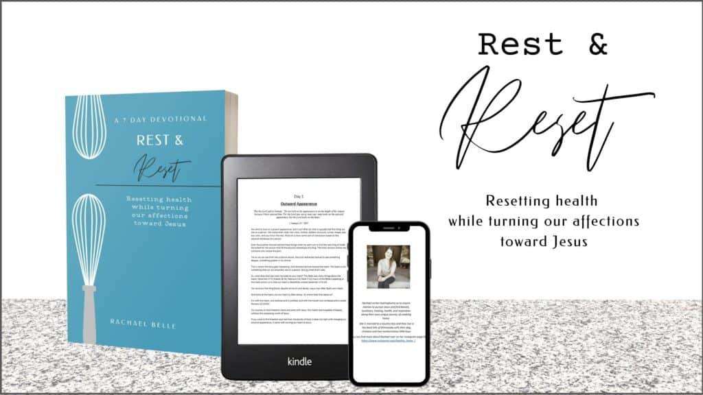 Rest and Reset devotional