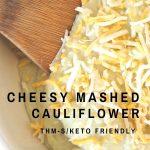 pinterest cheesy mashed cauliflower
