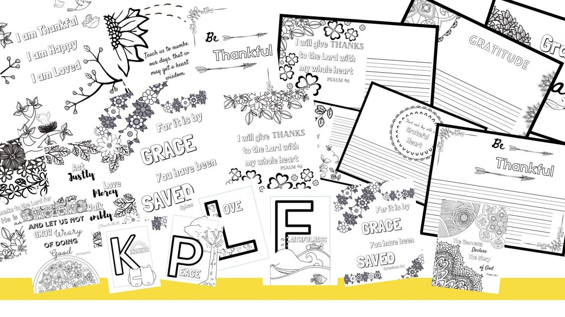 coloring pages blog banner