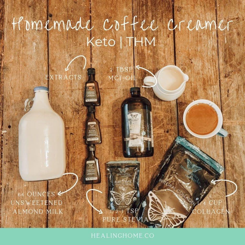 trim healthy mama coffee creamer