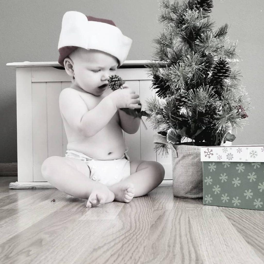 Christmas diapers