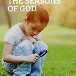 God's seasons child exploring