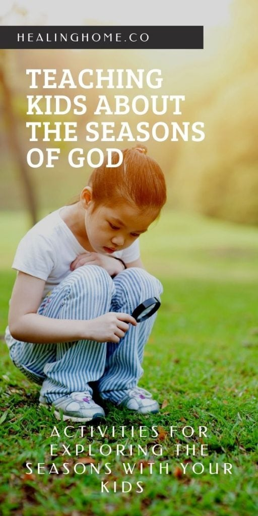 seasons of god with child exploring
