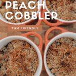 THM peach cobbler