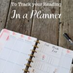 planner open on a table