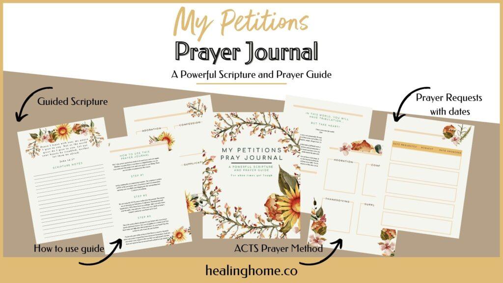my petitions prayer journal