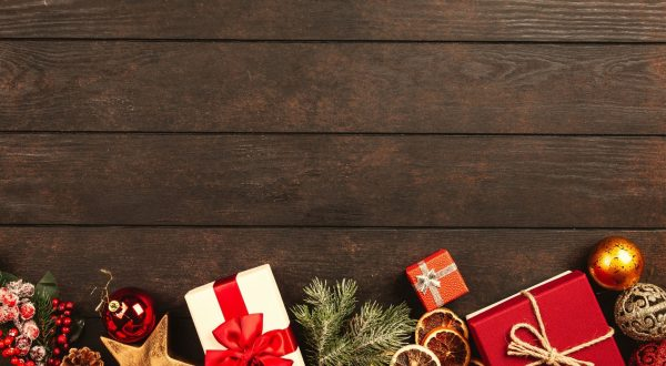 joy in giving with presents